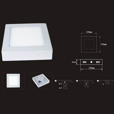 surface mount led panel